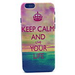 Sea  Pattern PC Hard Case for iPhone 6