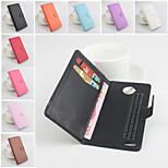 Protective PU Leather Magnetic Vertical Flip Case for Cubot Zorro 001(Assorted Colors)