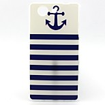 Cross Vessel Anchor Pattern TPU Soft Case for Sony Xperia Z3 Mini