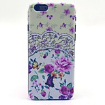 Mandala Rose Flower Butterfly Pattern Hard Case Cove for iPhone 6