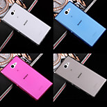 Ultrathin 0.3mm Transparent TPU Soft Cover Case for Sony Xperia M2 (Assorted Colors)