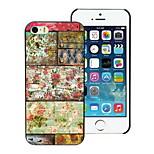 Retro Flower Design Hard Case for iPhone 5/5S