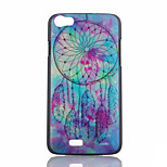Campanula Pattern Painted PC Phone Case for Wiko Lenny