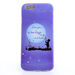 Blowing Bubbles Pattern TPU Material Soft Phone Case for iPhone 6