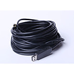 Factory outlets, the probe 7mm, 10 m USB industrial endoscope home plumbing endoscopes, send the mirror