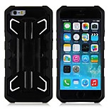 Aircraft Shape ABS Back Case with PC Holder for Apple Iphone 6(Assorted Color)