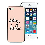 Why Hello Design Hard Case for iPhone 5/5S