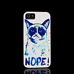 / caso del iphone 4 s cubierta del patrón del gato para el iphone 4 carcasa
