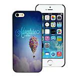 avventura è là fuori disegno custodia rigida per iPhone 5 / 5s