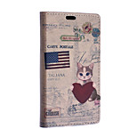 Cat Pattern Full Body Case for Sony Xperia E4G(Assorted Colors)
