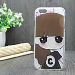New Fashion 3D Beauty Flower Colorful Totem Cartoon Case for iphone 6S 4.7