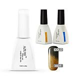 Azure 3 Pcs/Lot Color Changing with Temperature UV Gel Soak Off Nail Gel Polish (#43+BASE+TOP)