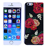 Peony Pattern TPU And IMD Soft Case for iPhone 5/5S