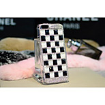 Luxury Candy Color Square Plaid Diamond PC Material Case for iPhone 6 4.7 Inch