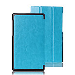 Luxury Leather Folding Folio Full Body Stand Case for Lenovo Tab 2 A7-10F (Assorted Colors)
