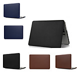 Top Quality Solid Colors Slim Luxury Leather Full Body Case Cover for Macbook Pro 13.3 (Assorted Colors)