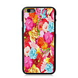 Colorful Flower Design PC Hard Case for iPhone 6