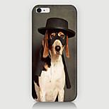 caso del patrón del perro fresco de la contraportada para phone6 plus caso