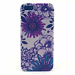 Sunflower Pattern Transparent Frosted PC Back Cover For  iPhone 5/5S