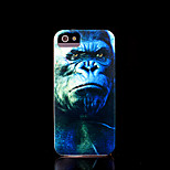 Chimpanzee Pattern Cover for iPhone 4 Case / iPhone 4 S Case
