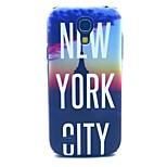 new york stad patroon harde geval dekking voor Samsung Galaxy S4 mini i9190