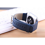 For iwatch 42mm Watchband Real Genuine Leather litchi Replacement Wrist Band Straps for iwatch Sport Edition Accessories