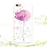3d flor belleza colorido caso de la historieta del tótem de la nueva manera de 6s iphone 4.7
