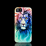 Lion Pattern Hard Cover for iPhone 5 Case for iPhone 5 S