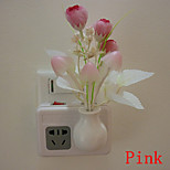 Tulip Dream Led Night Light Wall Lamp Light Control Sensor