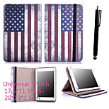 KARZEA® 7inch Universal PU Leather Bag Case with Stand and Stylus for 7' Google/Asus/Amazon Tablet
