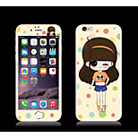 Cartoon Toughened Film for iPhone 6S/6