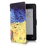 6 Inch Crop Pattern PU Leather Case with Magnetic Buckle for Amazon Kindle Paperwhite (Assorted Colors)