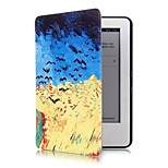 Hot Selling Colour Decoration PU Leather Flip Smart Full Body Case for Kindle 2014