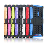 Tire Wave TPU Back Case with PC Hold for Nokia Lumia 830(Assorted Color)