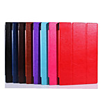 10.1 Inch Triple Folding Pattern High Quality PU Leather Case for Sony Xperia Z2 Tablet(Assorted Colors)