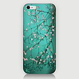 The Fmall White Flowers Pattern Case Back Cover for Phone6 Case