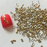 200PCS Golden Rivet Nail Art Decorations