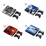 designer hud for sony play station PS3 Slim-system& fjernbetjeninger