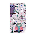 Fashion Pattern Design Pu Leather And The LG G2 Card Slot Cell Phone Holster