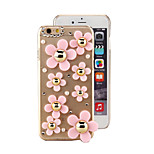 Fashion Stereoscopic Sunflower Pattern PC Back Cover Case for iPhone 6 Plus(Assorted Color)