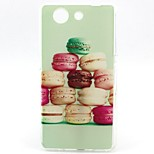Macarons Pattern TPU Soft Case for Sony Xperia Z3 Mini