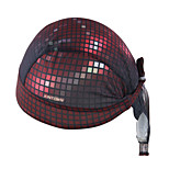 WEST BIKING® Unisex Soft Breathable Bicycle Cap Flash Grid Polyester Pirate Kerchief UV Sunscreen Cycling Accessories