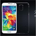 dunne transparante TPU materiaal zacht telefoon geval voor Samsung Galaxy S5 mini (verschillende kleuren)