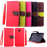 Nexus 6 lanyard Flip Wallet Leaf Stand case for Motorola Google Nexus 6 back cover case PU Leather Cover card slot
