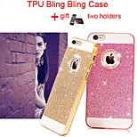 TPU Soft Bling Glitter Cover Case with Back Hole for iPhone 6(Assorted Colors)
