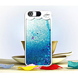 New Style Hot Sell Colorful Creative 3D Liquid Quicksand with Stars Cell Phone Cover Cases for iPhone 6 6plus 5s