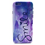 COCO FUN® Purple Dream Pattern Hard PC IMD Back Case Cover for iPhone 6