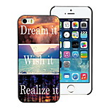 sogno e vorrei che, realizzare esso disegno custodia rigida per iPhone 4 / 4S