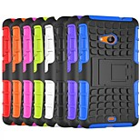 Tire Wave TPU Back Case with PC Hold for Microsoft Lumia 535(Assorted Color)