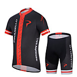 WEST BIKING® Mountain Bike Clothing Suit MTB Shorts Jersey Set For Men Breathable Wicking Cycling Clothing Short Suit